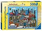 Ravensburger etwas Kritzeln Um London Landmarks Kunstnägel Puzzle