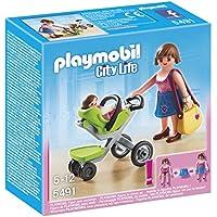 Playmobil Centro Comercial - Madre con cochecito (5491)