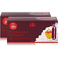 iSi Professional Chargers   Cartucce per panna montata  420 g  50 x 8 4 g  2 pz