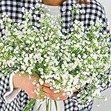 Luyue Kunstblumen, Rosen / Gladiolen aus Seide, für Hochzeit, Party, Blumenstrauß und Heimdeko, 10Stück Stil Nr. 4