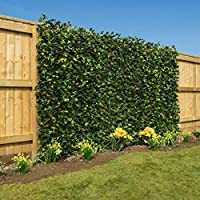 Christow Artificial Leaf Hedge Screening Trellis Privacy Screen Garden Expanding Willow