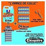 Cléopâtre - CMC5+24CMC80 - Marine - Pack Année de colle - Colle bleutée