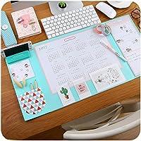 dv/_028 40/fogli di carta Din A2 Sottomano per scrivania con calendario e righello