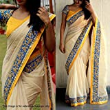 Macube Women's Latest Multi Color Designer Sarees New Collection 2018 today Low Price Saree With Blouse Piece