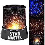 FWQPRA Star Master Projector With Usb Wire Turn Any Room Into A Starry Sky Colorful Romantic LED Cosmos Star Master Sky Starry Night Projector Bed Light Lamp.