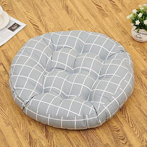 Coussin rond de tatami/coussin de chaise bureau/coussin rembourré de banc-A 45x45cm(18x18inch)