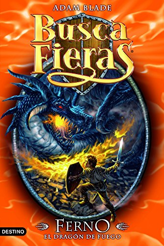 Ferno, el Dragón de fuego: Buscafieras 1 por Adam Blade