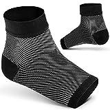 Ailaka compressione per fascite plantare, arco supporto caviglia calze a compressione per piede sollievo dal dolore alla caviglia, tallone per uomini, donne, infermieri, maternità, gravidanza