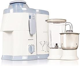 Havells Endura GHFJMAIW050 500-Watt Juicer Mixer Grinder with 2 Jars (Beign)