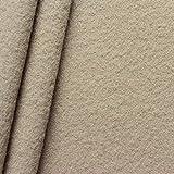 STOFFKONTOR 100% Wolle Walkloden Stoff Meterware Beige