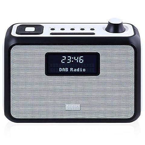DAB+ Clock Radio Bluetooth Speaker - August MB400 - Wake