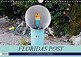 Floridas Post (Wandkalender 2019 DIN A4 quer): Floridas Vielfalt an Briefkästen (Monatskalender, 14 Seiten ) (CALVENDO Orte)