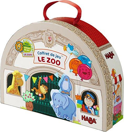 Haba 7633 - Meine erste Spielwelt Zoo - Großes Spielset (Die Ersten Wilden Tiere)