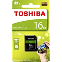 Toshiba 16GB UHS-I Class 10 SDHC Memory Card (Read Speed Upto 100 MB/s) (16GB)