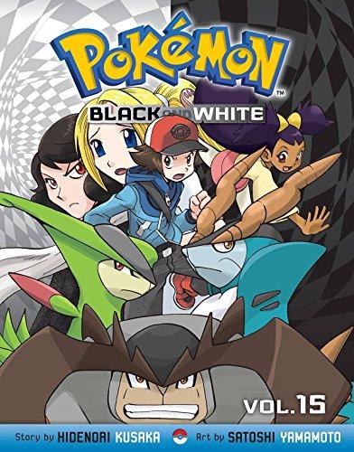Pokemon Black and White. Volume 15