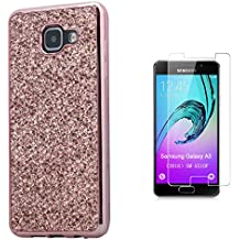 Pheant® [2in 1] Samsung Galaxy A5 (2016) SM-A510F Coque Gel Étui de Protection en Silicone Pétillant Paillette Désign
