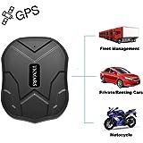 TKMARS Starker Magnet GPS-Tracker, 3 Monate Lang Standby GPS, Fahrzeug Tracker Echtzeit Monitoring System, wasserdicht…