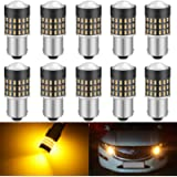 KATUR 1156 BA15S 7506 1073 1095 1141 Led Light Bulb 3014 54 Chipsets 650 Lumens Replace for Turn Signal Back Up Reverse…