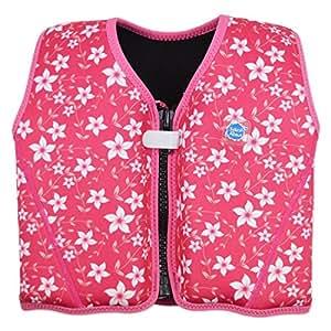 Splash About Kids' Go Starter Float Jacket - Pink Blossom, 1-3 Years