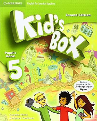 Kid's Box for Spanish Speakers Level 5 Pupil's Book Second Edition