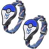 YouN 2pcs Bluetooth Bracelet Interactive Figure Toy for Nintendo Pokemon GO Plus