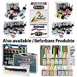 Profi AirBrush SET CARRY I -LIMITIERTE AKTION!- Airbrush Kompressor SET für Airbrushfarben HOCHWERTIGE AIRBRUSHPISTOLE DOUBLE ACTION 207D mit 0,2mm Nadel/Düse, OPTIMALES Airbrush-Kit für alle FEINARBEITEN zum Kennenlern-Preis! -