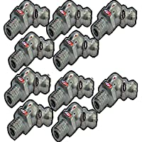 Aerzetix: 10x graisseurs M6 6mm 135° coudé C18620