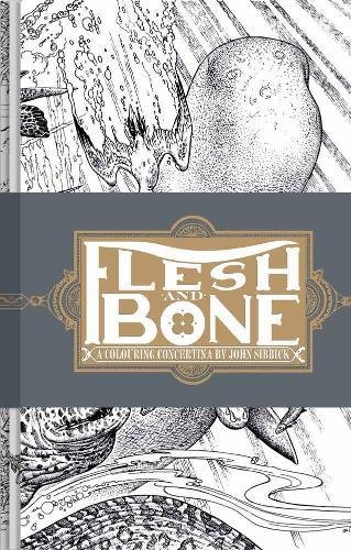 Flesh and bone : A colouring concertina