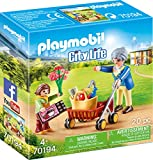 Playmobil 70194 City Life Oma mit Rollator, ab 4 Jahren, bunt, one Size