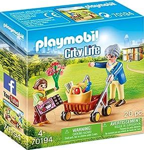 Playmobil City Life 70194 Set de Juguetes - Sets de Juguetes (Acción / Aventura, 4 año(s), Niño/niña, Interior, Multicolor, Gente)