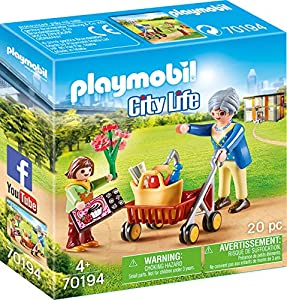 Playmobil City Life 70194 Set de Juguetes - Sets de Juguetes (Acción / Aventura, 4 año(s), Niño/niña, Interior,, Gente)
