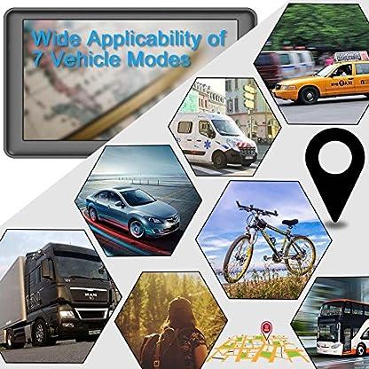 GPS-Navi-Navigation-fr-Auto-LKW-PKW-7-Zoll-8GB-256MB-Lebenslang-Kostenloses-Kartenupdate-Navigationsgert-mit-POI-Blitzerwarnung-Sprachfhrung-Fahrspurassistent-2019-EU-UK-50-Karten