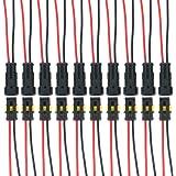 10m m/ètre, 2 fils 2 x 1.5 mm/² c/âble cylindrique 10m C/âble multiconducteur pour lautomobile // remorque 5m 20m ou 50m choix: