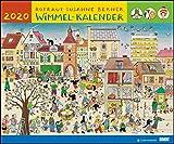 Wimmel-Kalender 2020 – DuMont Kinderkalender – Wandkalender 58,4 x 48,5 cm – Spiralbindung