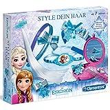 Unbekannt Frozen Die Eiskönigin Style Dein Haar Set viel Zubehör für kleine Fans • die Kinder Mode Schmuck Kreativset