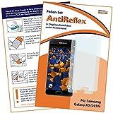 mumbi Schutzfolie kompatibel mit Samsung Galaxy A3 2016 Folie matt, Bildschirmschutzfolie (2x)