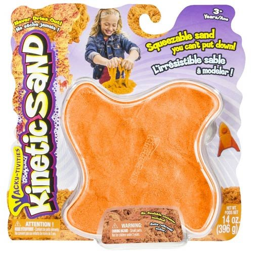 Kinetic Sand 14oz (396 g) [Neon Orange]
