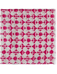 Tous Pañuelo Foulard New Circle Bear en color fucsia 180x70