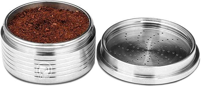 Nachfüllbare Kaffeekapsel-Tasse, Konesky Edelstahl Leere