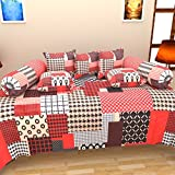 Bharti Home Fab 100% Cotton Single Bedsh...