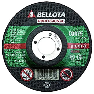 Bellota 50302-125 DISCO ABRASIVO PROFESIONAL CORTE PIEDRA 125MM