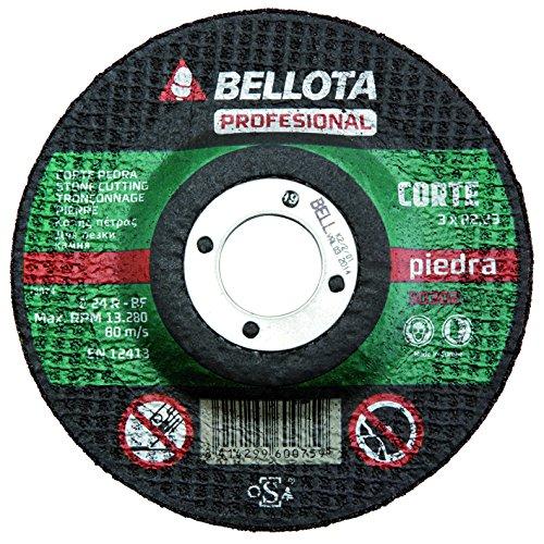 Bellota 50302-115 DISCO ABRASIVO PROFESIONAL CORTE PIEDRA 115MM