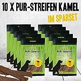 PUR Kaustreifen Kamel 10 x 100g aus 100% Kamel PUR ohne irgendwelche Zusätze getrocknet Aus je ca. 500g frischem Kamel hergestellt Sauber leicht teilbar und wunderbar...