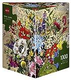 HEYE 29787 - Flower's Life Triangular, Marino Degano, inklusiv Poster, 1000 Teile Puzzle