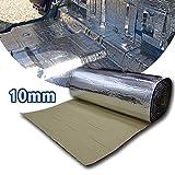 Motify-GT 2.7 mq 10 mm Heat Shield Thermal Sound Deadener tappetino auto controllo acustico a prova di isolamento acustico Dampening Moistureproof impermeabile (50 x50 cm)