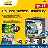 Schellenberg 66258 Rollladenkasten-Dämmung 2-teilig, 100 x 50 cm/ 13 mm