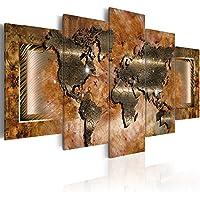 murando - Cuadro en Lienzo 200x100 cm - Abstraccion - Impresion en calidad fotografica - Cuadro en lienzo tejido-no tejido - Arte mapa del bocao 020101-247