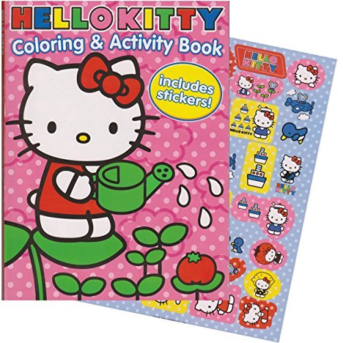 Hello Kitty 144 Page Coloring & Activity Book With Stickers. by Bendon Inc.