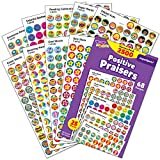 2500 Positive Praisers, SuperSpot Stickers, Variety Pack