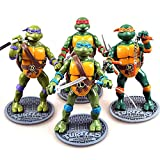 ONOGAL Die Ninja Turtles artikulierte Figuren Leonardo Raphael Donatello Michelangelo 160 mm 4676